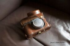 PU Leather Full Camera Case bag cover for FUJI X100F X100T X100S Brown + strap