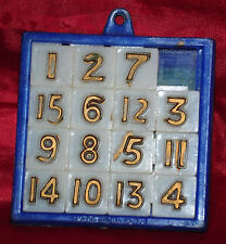 EARLY 1970s NUMBERS PUZZLE MADE IN HONG KONG