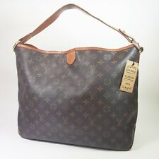 Authentic Louis Vuitton Delightful MM Monogram M40353 Tote  Bag Guarantee ALA176