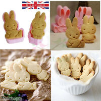 Bunny Rabbit Cookie Fondant Biscuit Sweet Cutter Cute Mould Cartoon DIY Fun