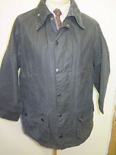 "Barbour A155 Beaufort  Waxed jacket - L 44"" Euro 54 in Blue"