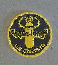 Vintage Aqua lung Us Divers patch