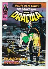 Dracula Nr. 1 Williams Verlag 1974 im Zustand 1-2 !!!