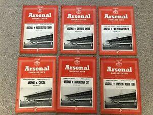 1953/4 ARSENAL HOMES X16 JOB LOT
