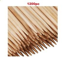 1200 Wooden Cocktail Sticks Party Fruit Cherry Cheese Toothpicks Tooth