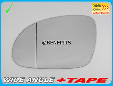 For SKODA SUPERB 2005-2008  Wing Mirror Glass Aspheric + TAPE Left Side /K020