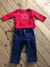 Baby boy Petit Bateau pants and top