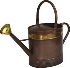 5L Vintage Galvanised Steel Garden Watering Can