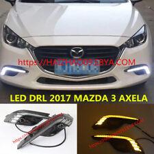 NEW DRL FOR 2017 MAZDA 3 AXELA LED DAYTIME RUNNING LIGHT FOG LAMP W/ TURN SIGNAL