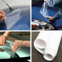 Car Body Exterior/Interior Protect Anti-Scratch Clear Film Vinyl Sheet 40*200cm