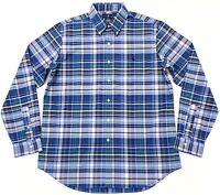 Ralph Lauren Men's Classic Fit Performance Check Shirt In Blue/White/Multi