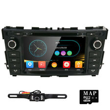 "HIZPO Camera+ 8""2Din Radio Car DVD Player GPS Navigation fit NISSAN Teana/Altima"