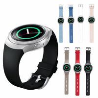 Silikon Uhr Armband Uhrenarmbänder Sport Band für Samsung Gear S2 BSM-R720 NEU