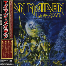 IRON MAIDEN - Live After Death - Japan OOP 1998 - 2 CD