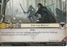 3 x For the Watch! AGoT LCG 2.0 Game of Thrones No Middle Ground 67