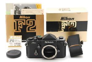 *MINT w/BOX* NIKON F2 Titan F2T SLR 35mm Eye Level Film Camera Body From Japan