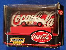 Matchbox Coca Cola Traditional Scale - 1958 Porsche 356 - Coke