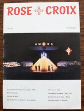 ROSE-CROIX - Revue N°104 de 1977 - Ordre rosicrucien mondial
