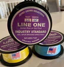 Jerry Brown Non-Hollow Spectra Braided Line 65lb x 150 yards