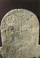 Alte Kunstpostkarte - Guiry-en-Vexin - Stèle funéraire à décor chrétien