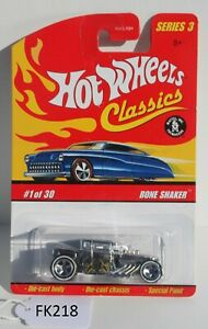 Hot wheels Classics Series 3 Bone Shaker Silver #1 of 30 FNQHotwheels FK218