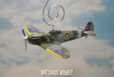 303 Squadron Supermarine Spitfire WWII Single Prop Airplane Christmas Ornament