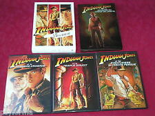 Coffrets 5 DVD Les aventures d'INDIANA JONES l'intégrale / Harisson Ford / TBE !