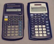 Texas Instruments TI-30X IIS and TI-36 Solar Powered Scientific Calculators Lot