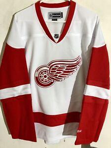 Reebok Women's Premier NHL Jersey Detroit Redwings Team White sz XL