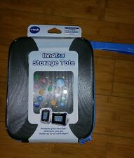 New Vtech InnoTab Storage Tote Gray & Blue & Black Carry Case- Free Shipping