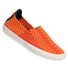 Ladies Women's Eweez Orange Dino Elasticated Fashion Trainers Casuals sizes