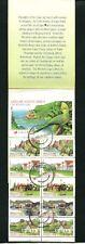 RSA - 10 Airmail Postcard Stamps, Markenheft gestempel   (JR-R1)