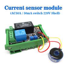 AC Detection Sensor Module The Maximum 100A Switch Output AC 220V Unshelled