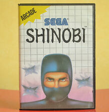 Shinboi Sega Master System (1989) Comes With Cartridge, Manual and Case