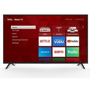 "TCL 32"" Class 720P HD LED Roku Smart TV 3 Series 32S331"