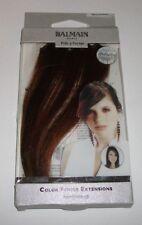 BALMAIN caldo colore caramello Frangia Extension 15 cm capelli clip nella memoria NUOVO freeP & P