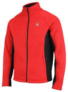 Spyder Men's Steller Sherpa Lined Full Zip Jacket, Color Options