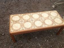 Wood Veneer Rectangle Vintage/Retro Coffee Tables