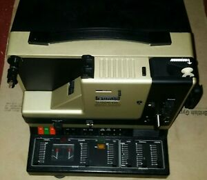 Eumig S926GL stereo sound optical level system 8MM projector with instructions