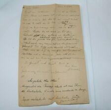 Jewish Judaica letter manuscript print Beitar organization Trumpeldor 1940