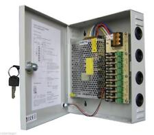 Rack Box Stabilized Power Supply 9 Outputs Channels Tuning Video Camera SC0