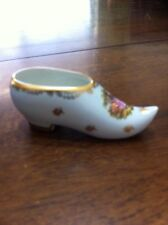 F. M Limoges France Porcelain Shoe