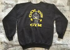 Gold's Gym Venice California Long Sleeve Vintage Sweatshirt from 70's Brand New