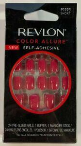 REVLON Color Allure 24 Nails Glue Included 91193 SHORT