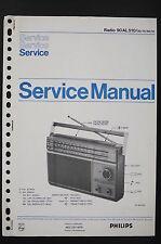 PHILIPS Radio 90 AL 510 Original Service-Manual/Anleitung/Schaltplan/Diagram o88
