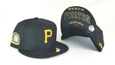 New Era Pittsburgh Pirates 5 Champions Ring Side patch Black 59Fifty Fitted Hat