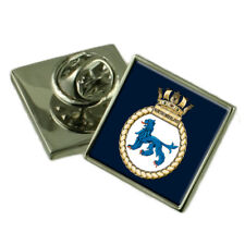 Royal Navy HMS Northumberland Lapel Pin Badge