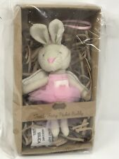 Mud Pie Mudpie Baby Bunny First Tooth Pocket Buddy New