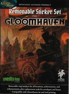 GLOOMHAVEN - Removable Sticker Set |NEUF/NEW|