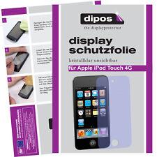 2x Apple iPod Touch 4G (Modelle 2010 / 2011) Schutzfolie klar Displayschutzfolie